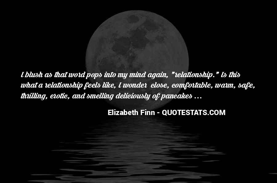 Elizabeth Finn Quotes #972891