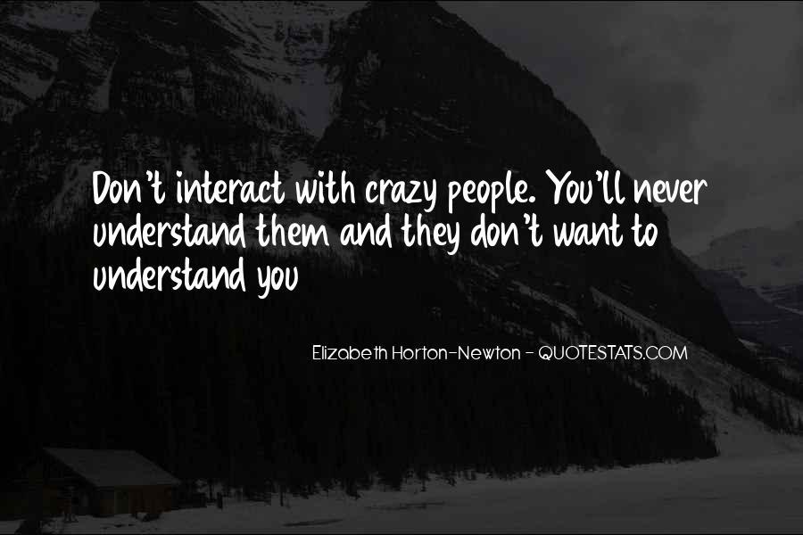 Elizabeth Horton-Newton Quotes #275600