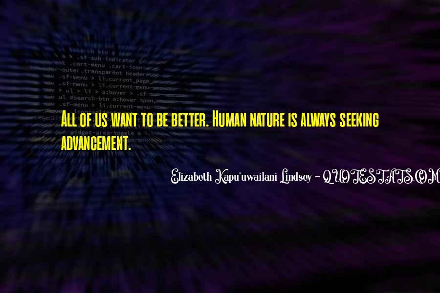 Elizabeth Kapu'uwailani Lindsey Quotes #1875776