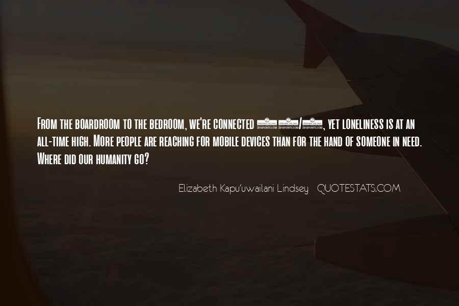Elizabeth Kapu'uwailani Lindsey Quotes #830077
