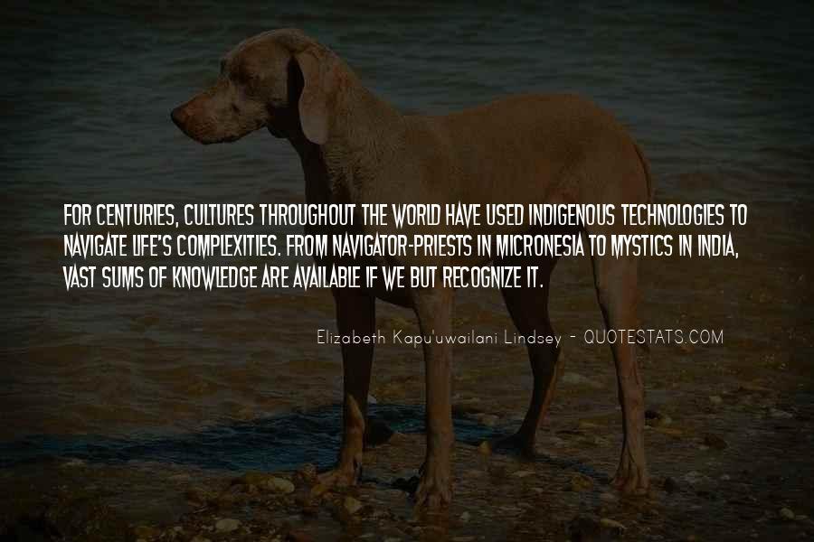 Elizabeth Kapu'uwailani Lindsey Quotes #886093