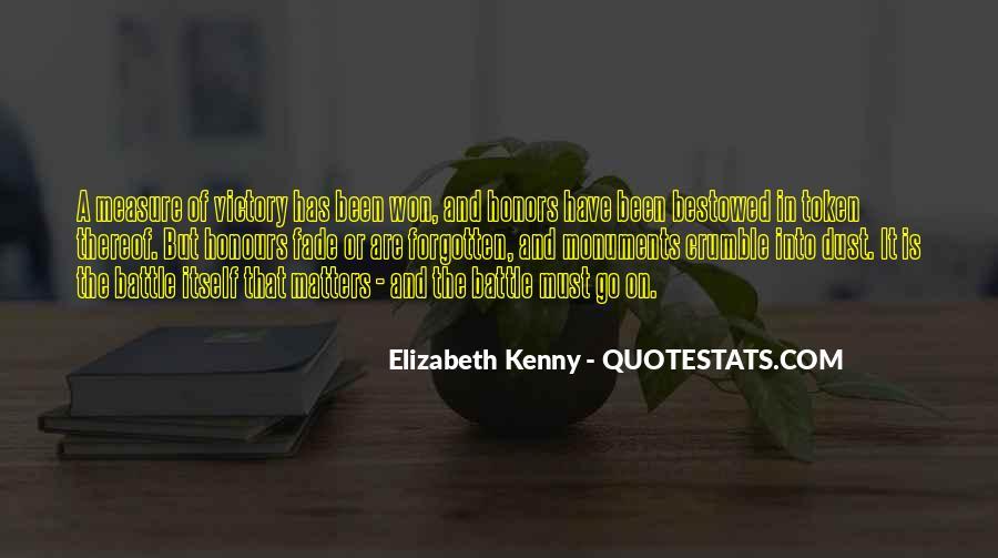 Elizabeth Kenny Quotes #1231224