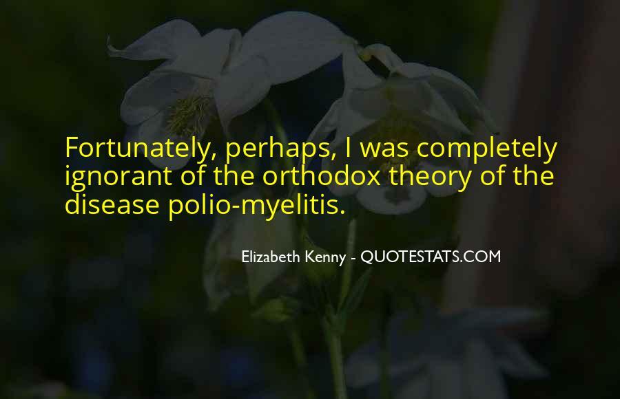 Elizabeth Kenny Quotes #1335242