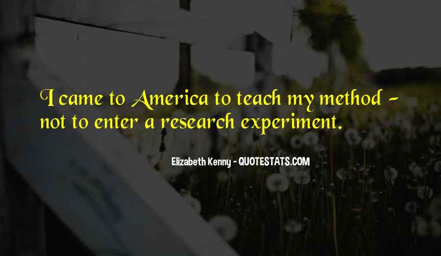 Elizabeth Kenny Quotes #1537330