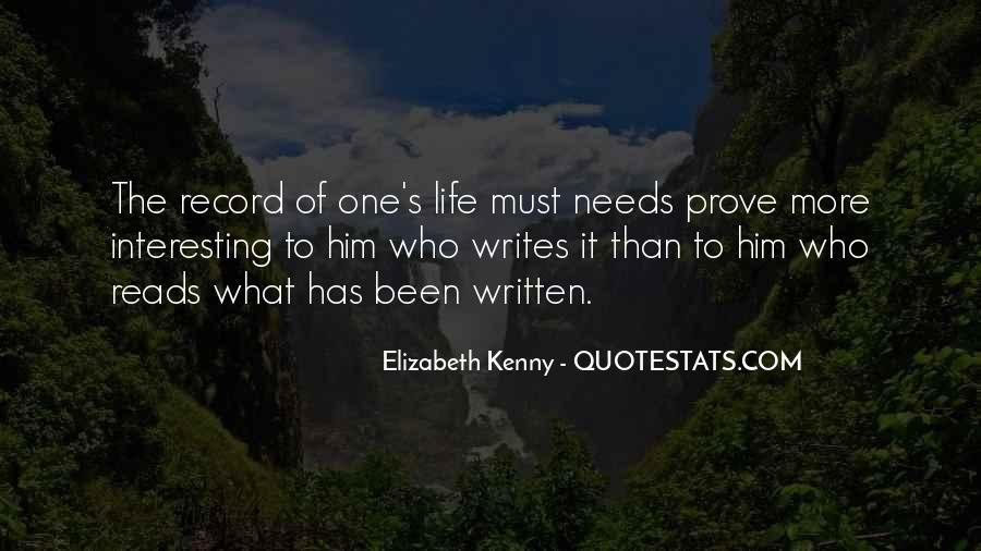 Elizabeth Kenny Quotes #1646167