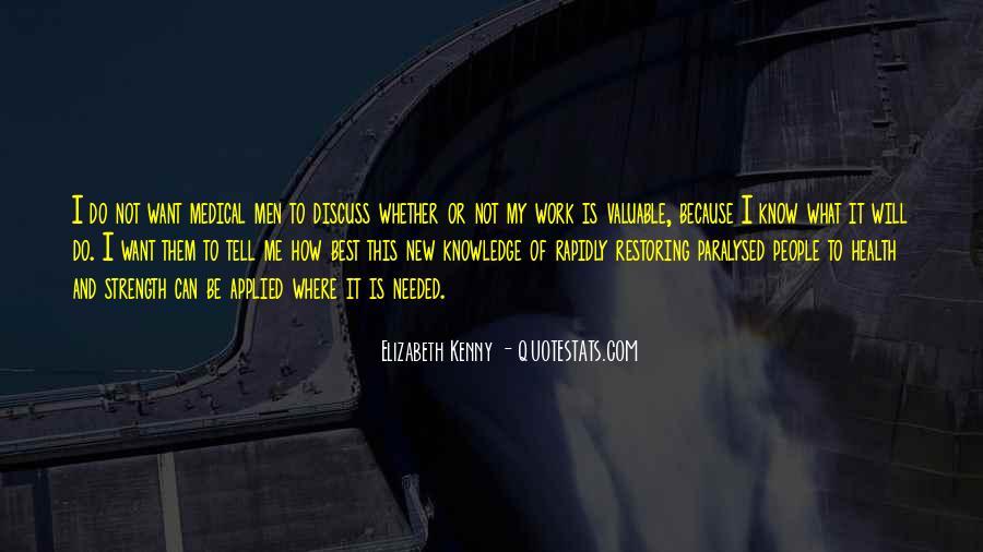 Elizabeth Kenny Quotes #703852