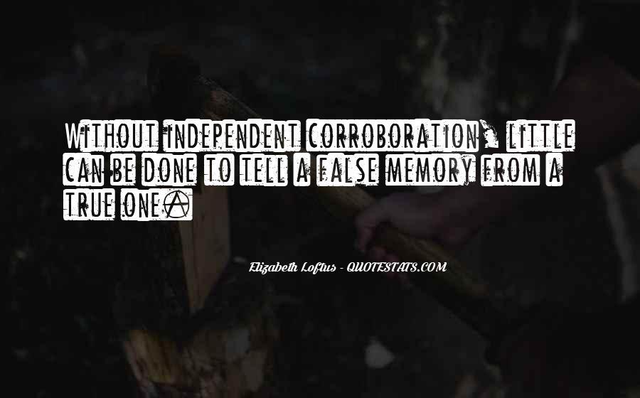 Elizabeth Loftus Quotes #1629612