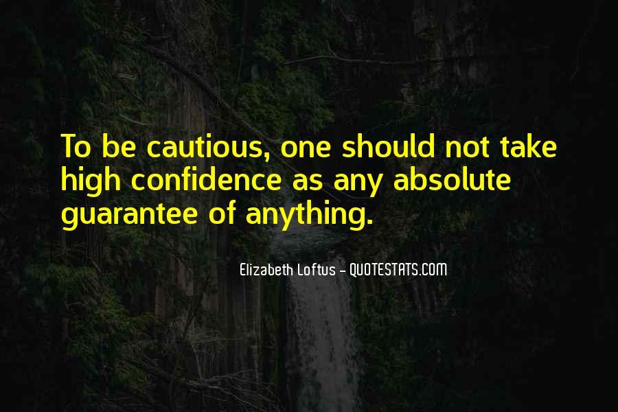 Elizabeth Loftus Quotes #268195