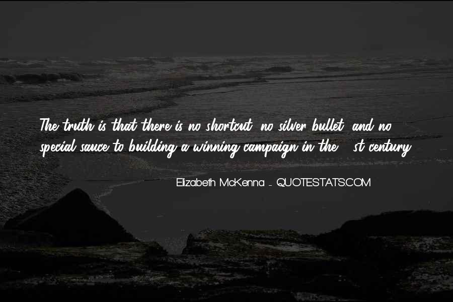 Elizabeth McKenna Quotes #1767730