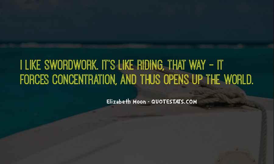 Elizabeth Moon Quotes #1396729