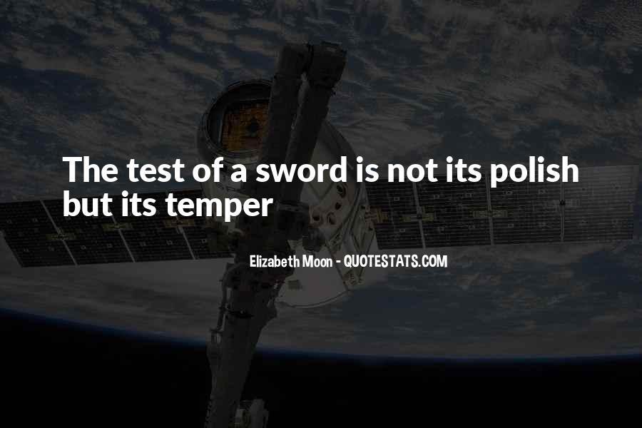 Elizabeth Moon Quotes #431292