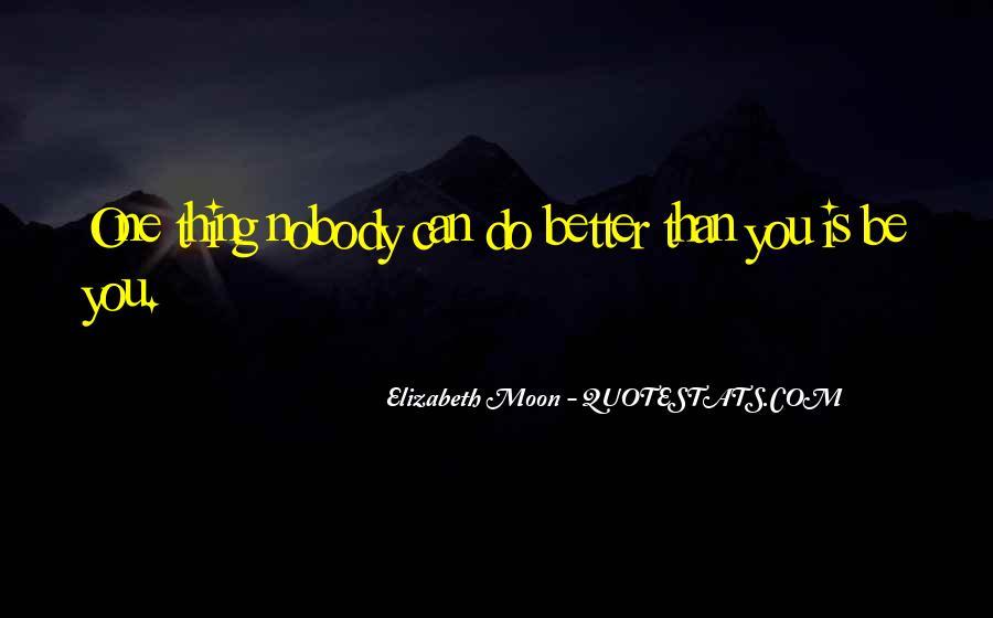 Elizabeth Moon Quotes #786661