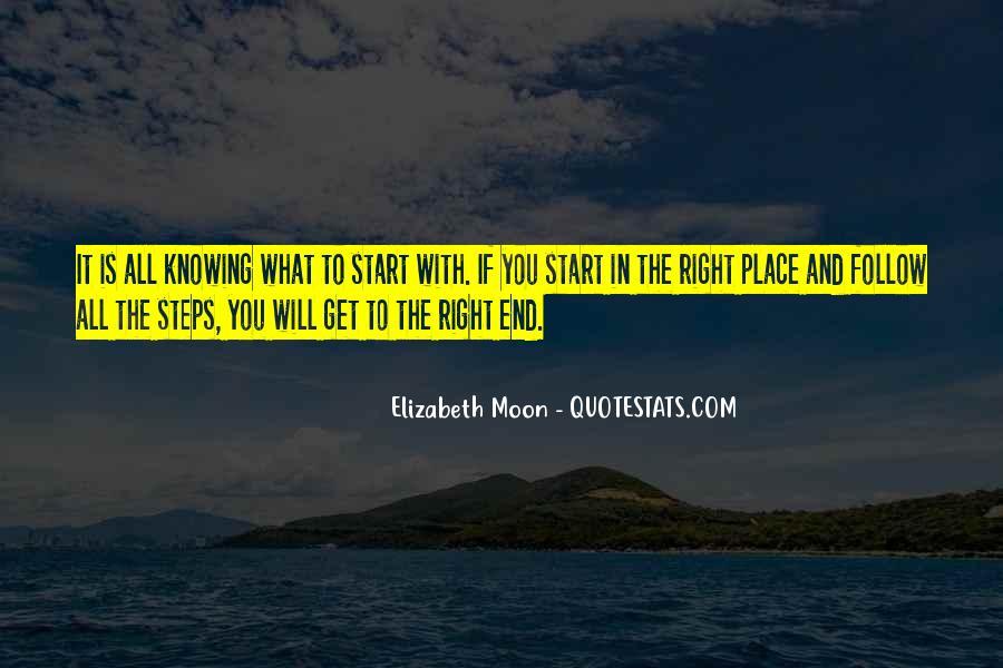 Elizabeth Moon Quotes #788949