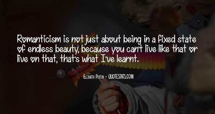 Elizabeth Peyton Quotes #1242634
