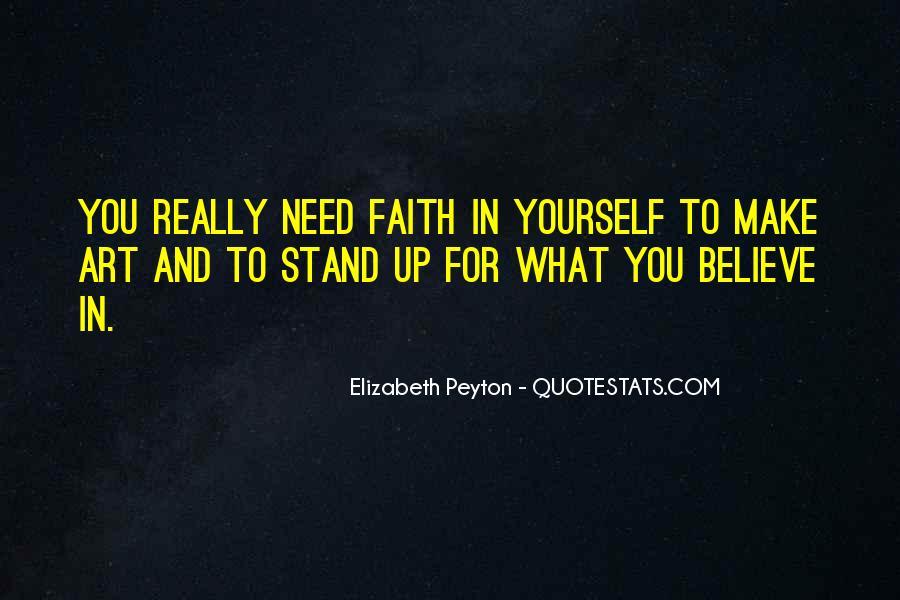 Elizabeth Peyton Quotes #851753