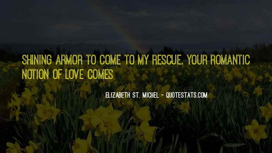Elizabeth St. Michel Quotes #1092800
