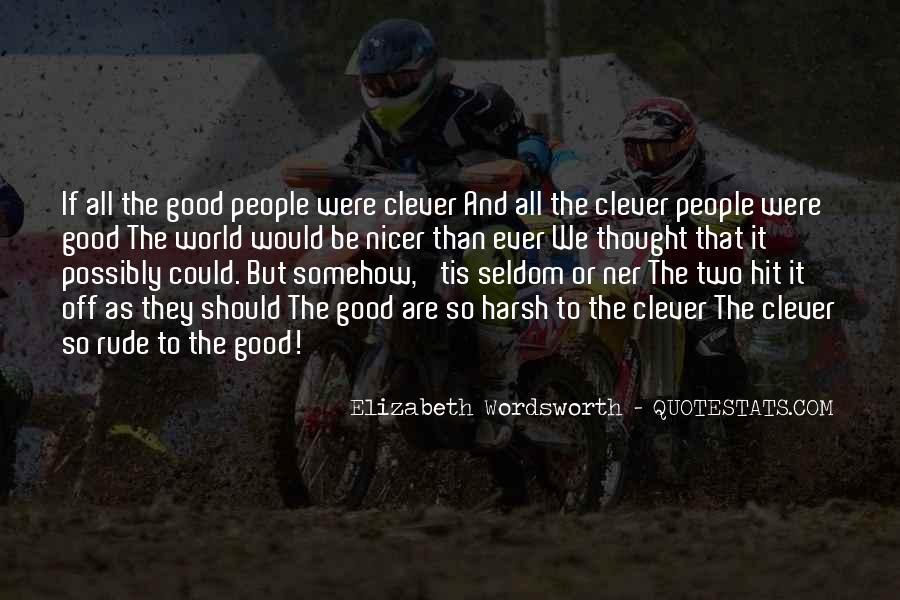 Elizabeth Wordsworth Quotes #1109150