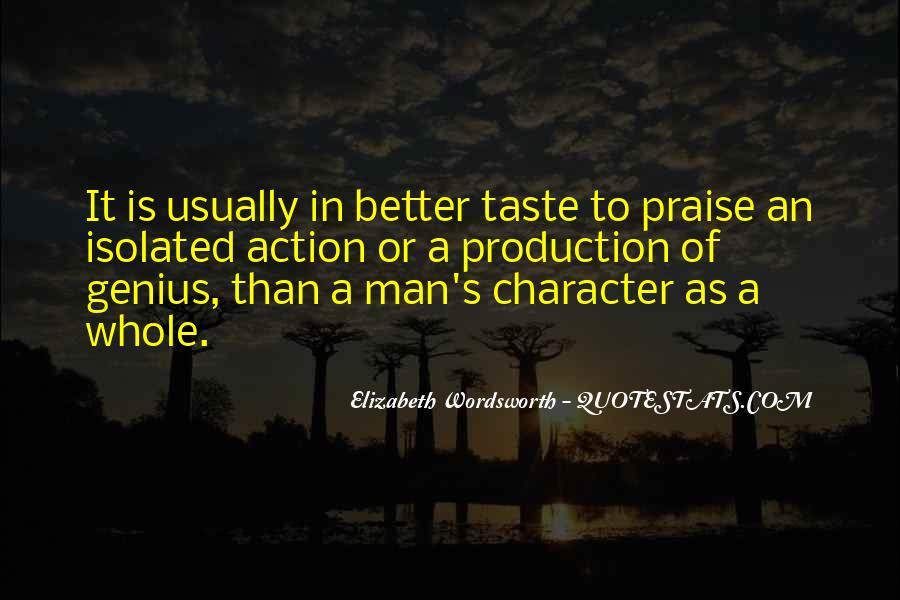 Elizabeth Wordsworth Quotes #1121245
