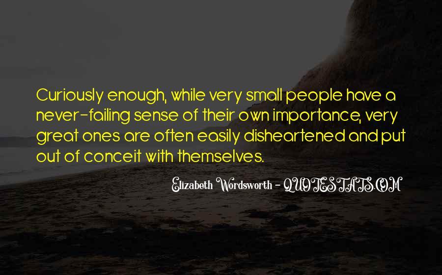 Elizabeth Wordsworth Quotes #189299