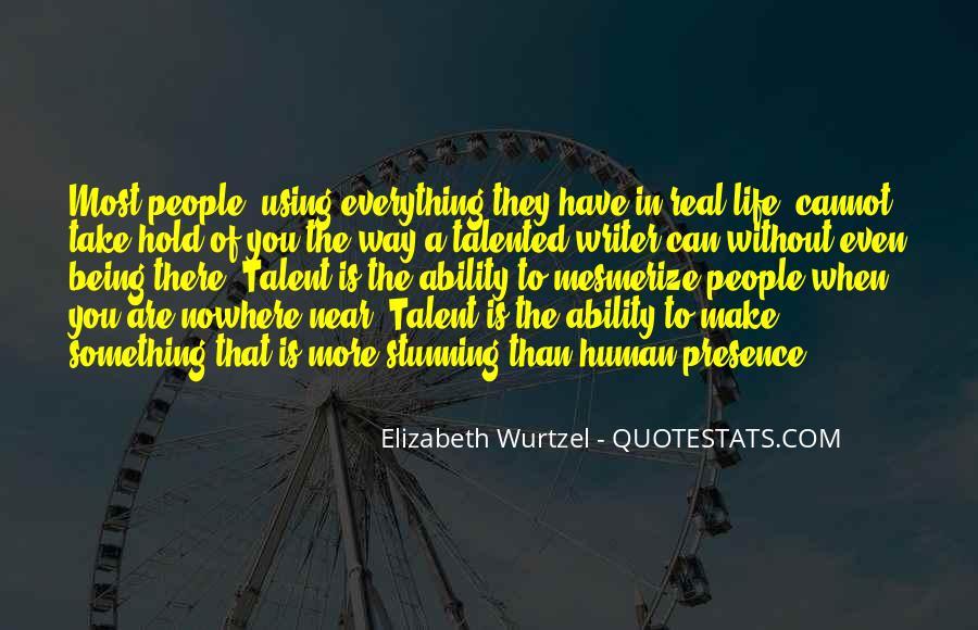 Elizabeth Wurtzel Quotes #100414