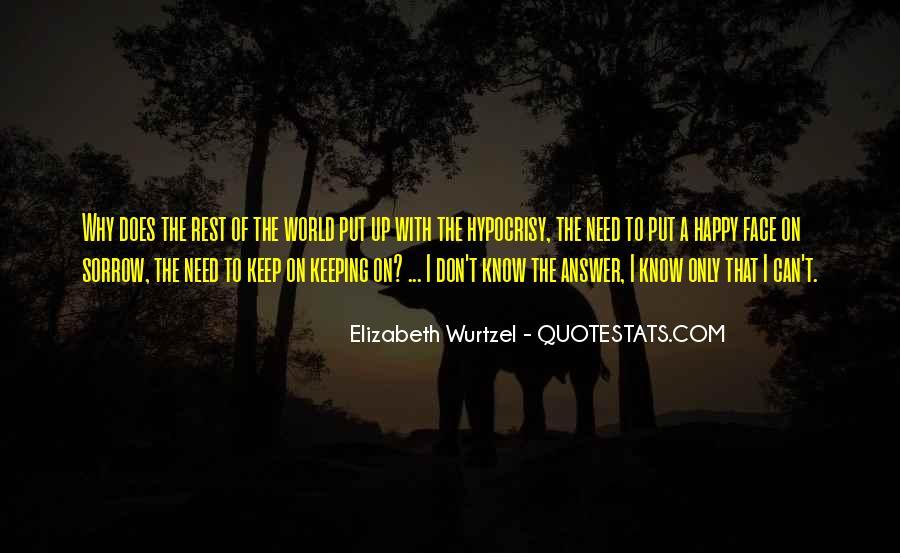 Elizabeth Wurtzel Quotes #1116278