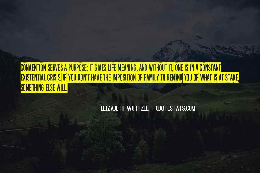 Elizabeth Wurtzel Quotes #1209154