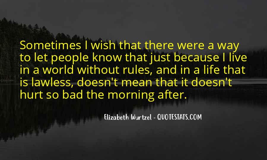 Elizabeth Wurtzel Quotes #1740892
