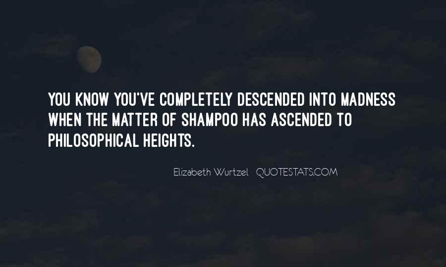 Elizabeth Wurtzel Quotes #213557