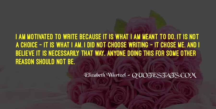Elizabeth Wurtzel Quotes #258278