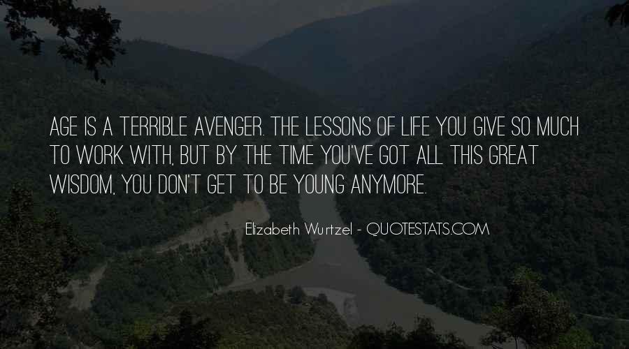 Elizabeth Wurtzel Quotes #65647