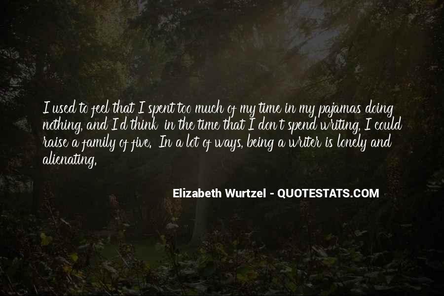 Elizabeth Wurtzel Quotes #746927