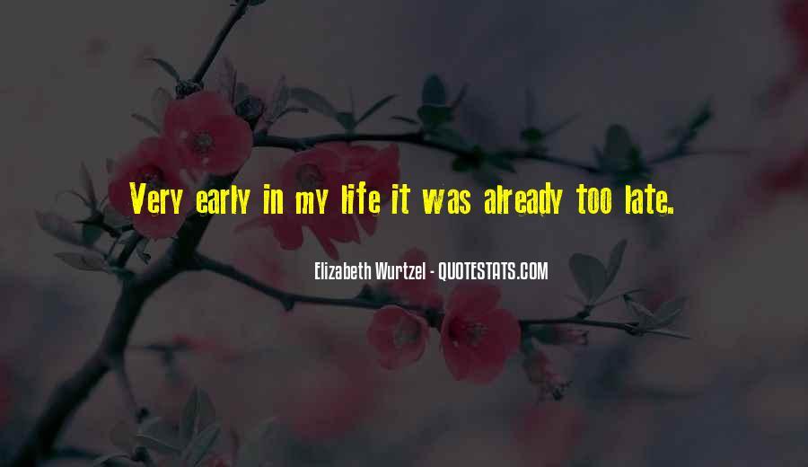 Elizabeth Wurtzel Quotes #776226
