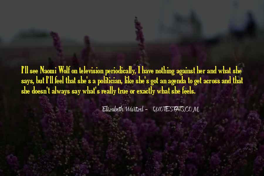 Elizabeth Wurtzel Quotes #932636
