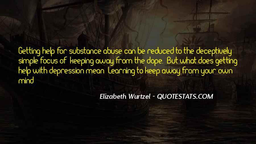 Elizabeth Wurtzel Quotes #964404