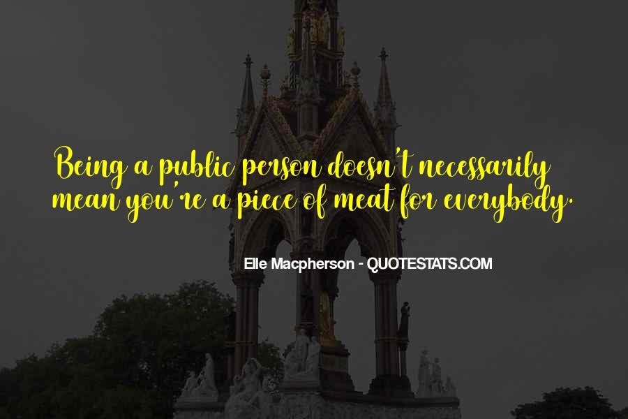 Elle Macpherson Quotes #128364
