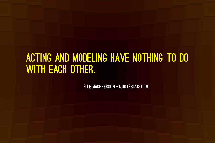Elle Macpherson Quotes #824004