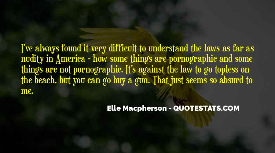 Elle Macpherson Quotes #967168