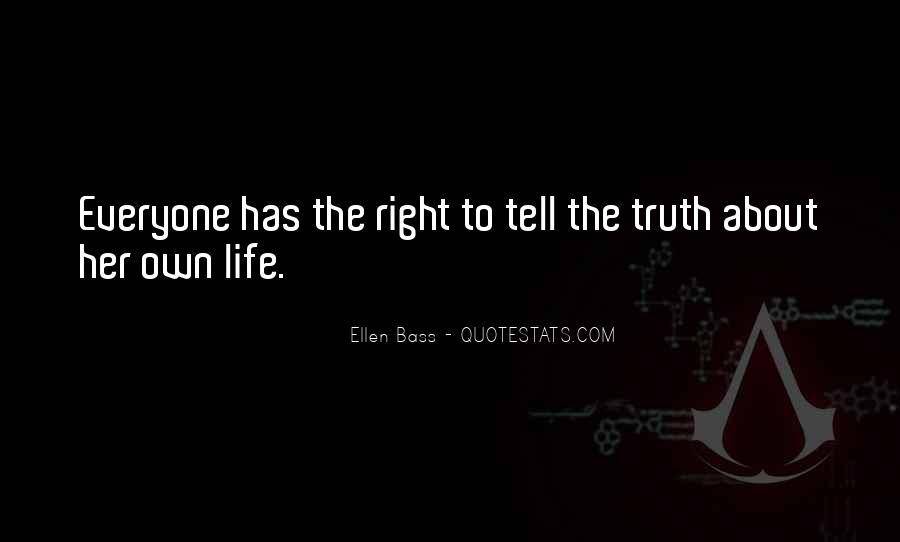 Ellen Bass Quotes #1439352