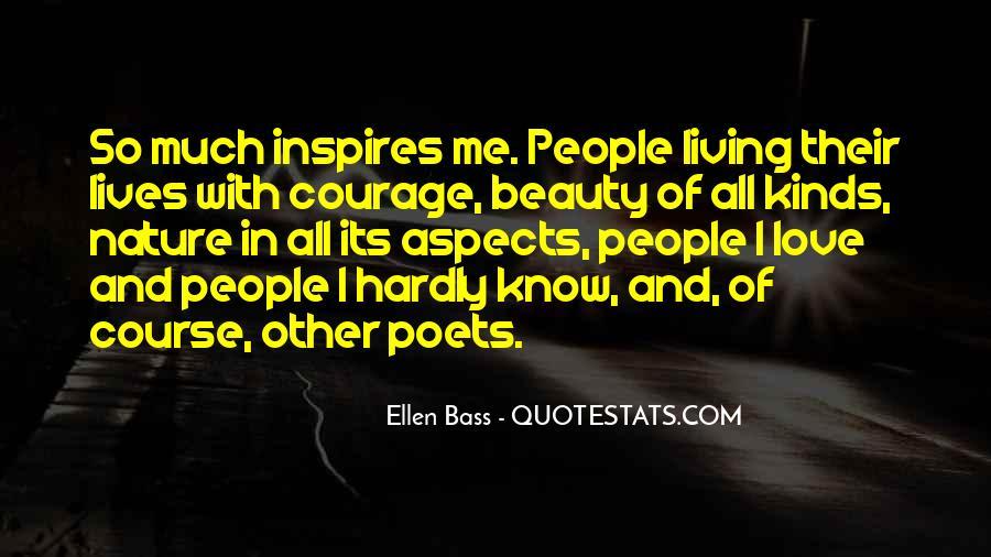 Ellen Bass Quotes #1647579
