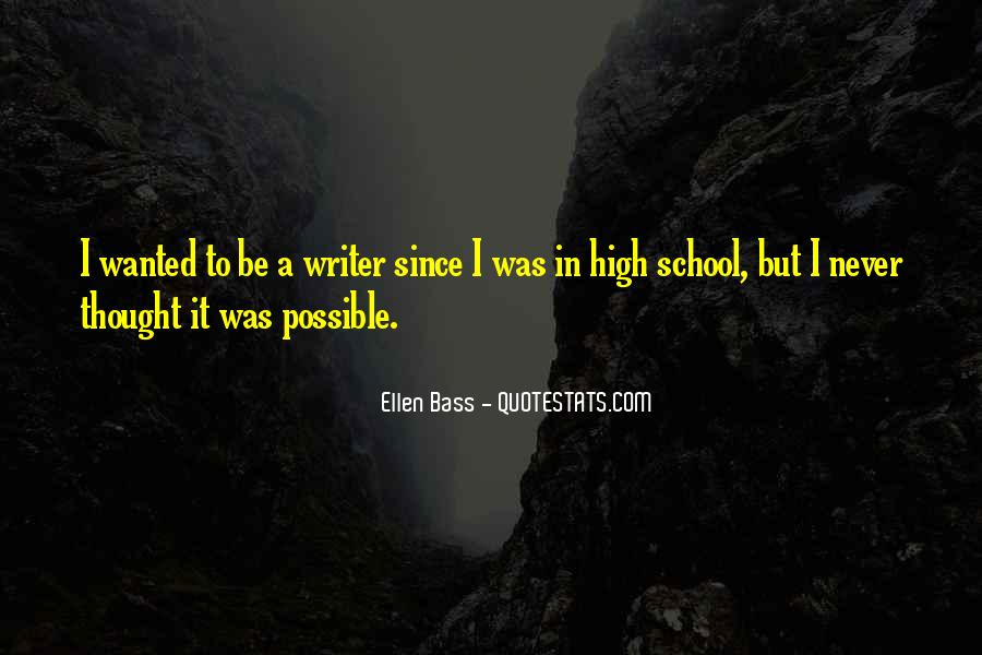 Ellen Bass Quotes #31667