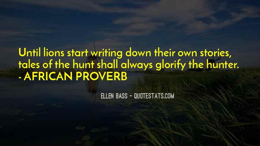 Ellen Bass Quotes #907093