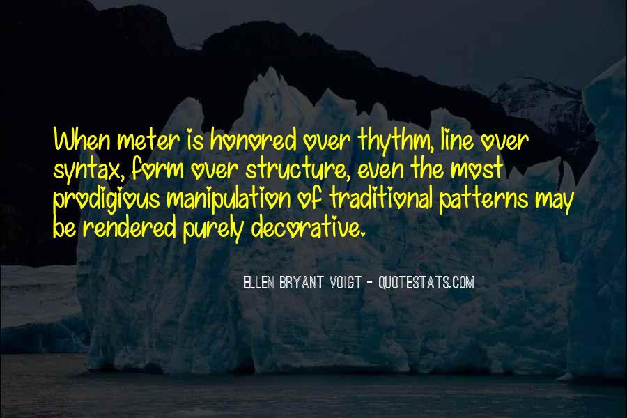 Ellen Bryant Voigt Quotes #829749