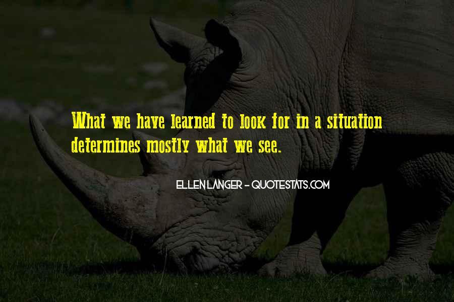Ellen Langer Quotes #1197337