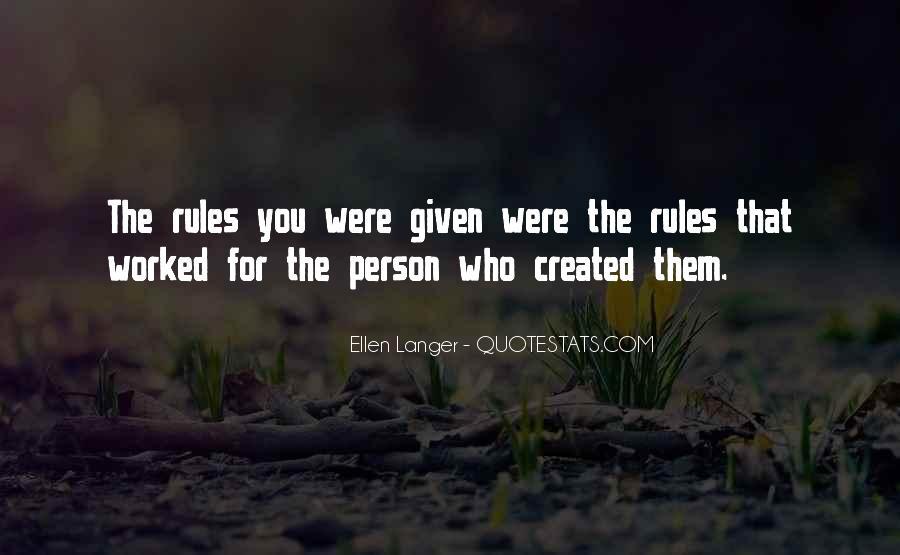 Ellen Langer Quotes #1284170