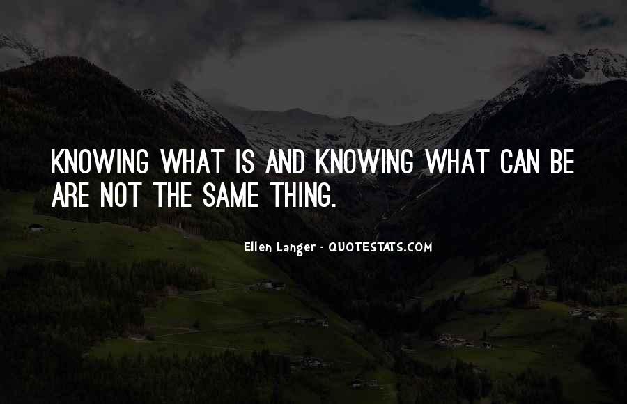 Ellen Langer Quotes #1381262