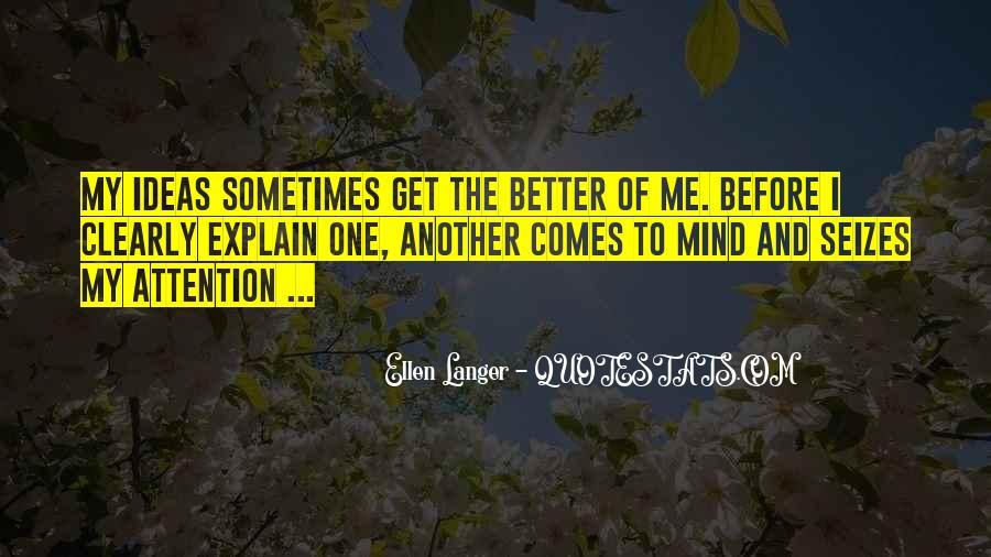 Ellen Langer Quotes #781469