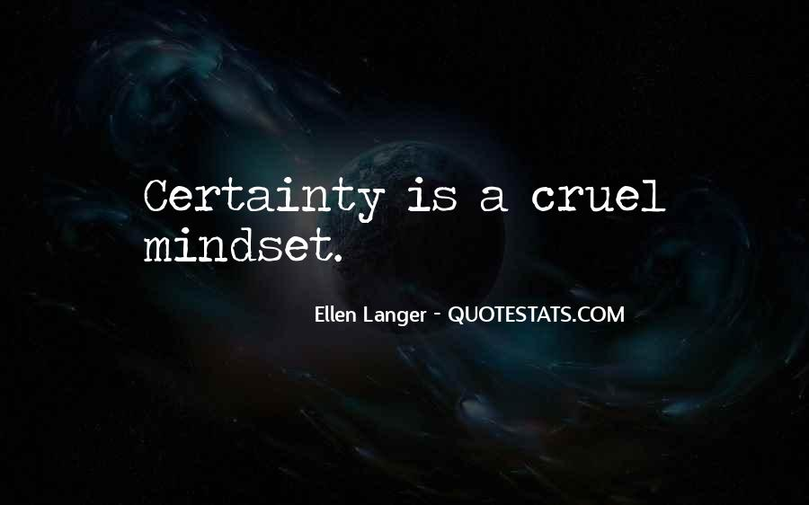 Ellen Langer Quotes #953076