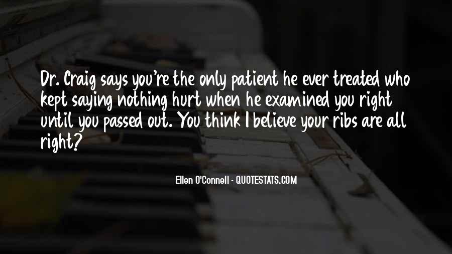 Ellen O'Connell Quotes #646847