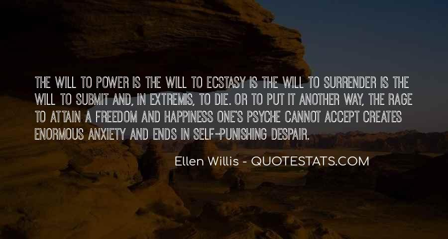 Ellen Willis Quotes #931385