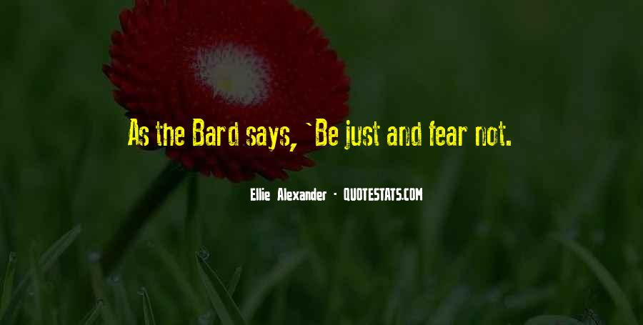 Ellie Alexander Quotes #1115974